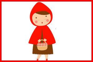 La niña Caperucita Roja