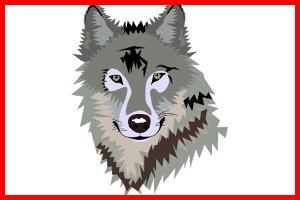 lobo feroz de caperucita