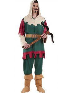 disfraz de cazador de caperucita roja