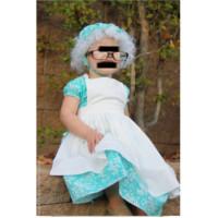 disfraz niña abuelita caperucita